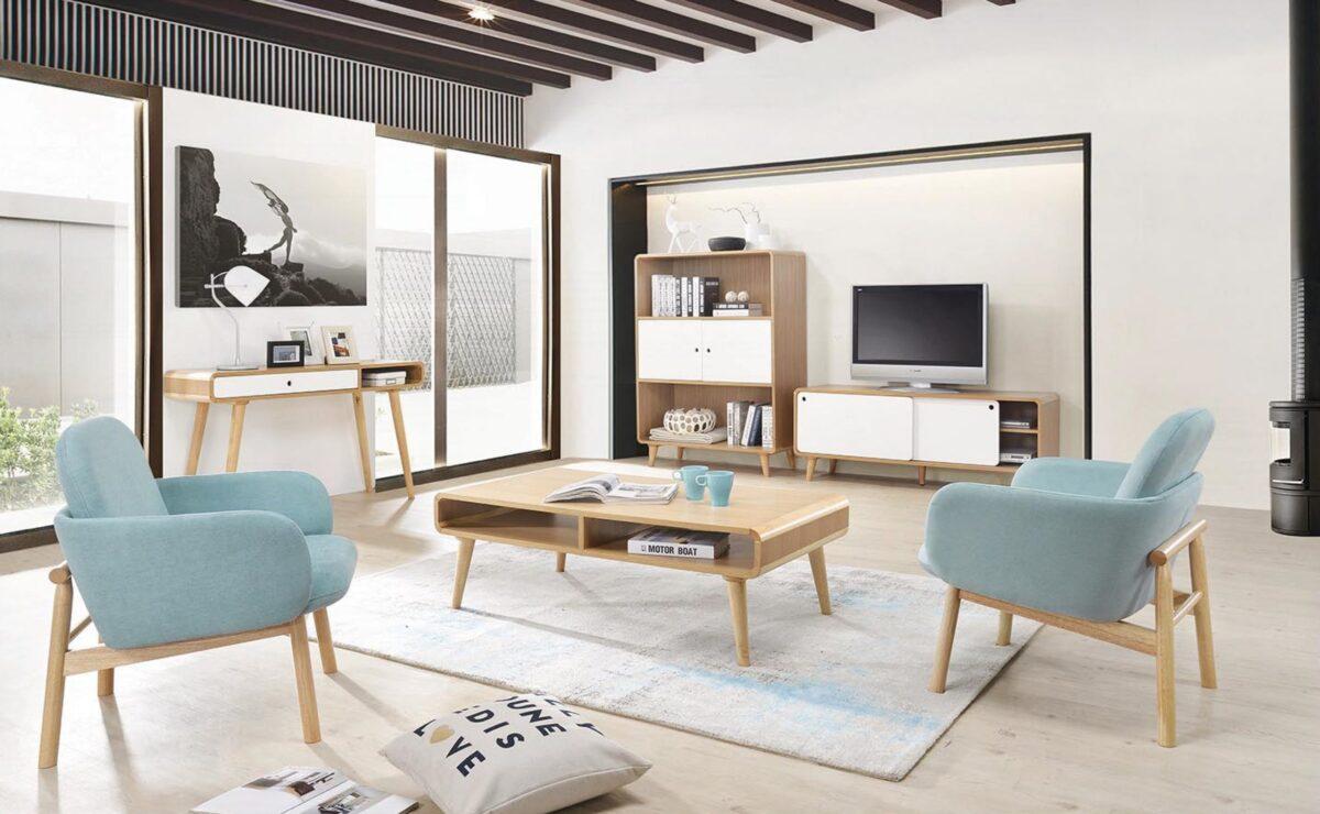 clean luxury Italian furniture